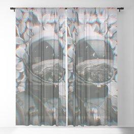 In Error Sheer Curtain