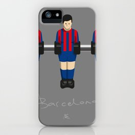 table football - Barcelona iPhone Case