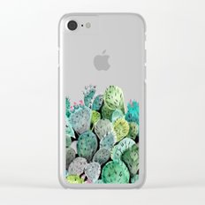 Desert Princess Clear iPhone Case