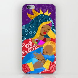 Virgin Mary and Child iPhone Skin