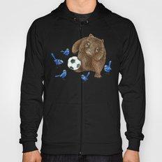 Blue wrens Wombat Football Hoody