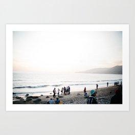 Beach Bums Art Print