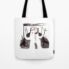 Lady Knight Tote Bag