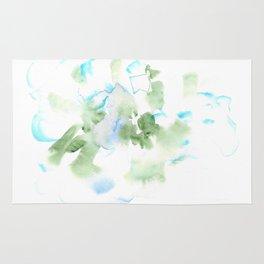 180515 Watercolour Abstract  Wp 17| Watercolor Brush Strokes Rug