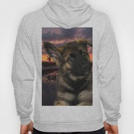 Loki German Shepherd Hoody