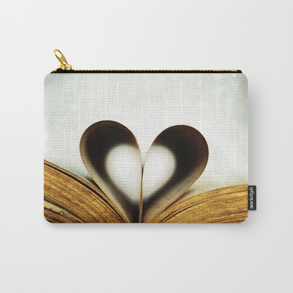 An Affair Of The Heart Carry-all Pouch by Lawsonimages CAP947718