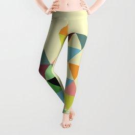 Abstract #585 Leggings