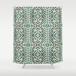 Bohemian Boho Ornament Pattern Shower Curtain