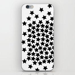 Lots of Black Stars iPhone Skin