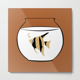 A fish called Wanda Metal Print