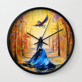Twilight Princess And Zelda Flying Wall Clock