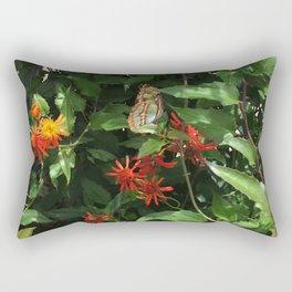 Fort Fisher Butterfly Rectangular Pillow