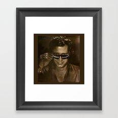 austin Framed Art Print