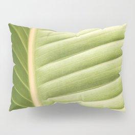 Retro Palm Leaf Abstract Pillow Sham