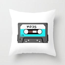 Mixtape MP3s Throw Pillow