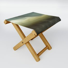 The ice that hides in the desert Folding Stool