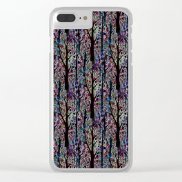 Trees 3 Clear iPhone Case