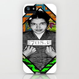 Ms. Parks Afro Funk iPhone Case