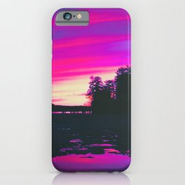 Aesthetic 80s Vibes iPhone Case
