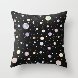 Suddenly - Space Pattern Throw Pillow