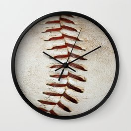Vintage Baseball Stitching Wall Clock