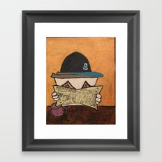 A Day in the Life of a M's Fan Framed Art Print
