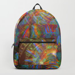 zoraoaster gazes from the 4th dimension Backpack