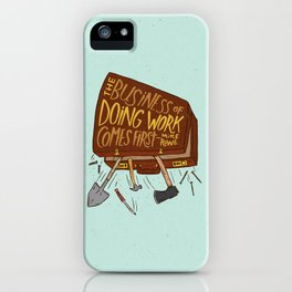 Mike Rowe iPhone Case