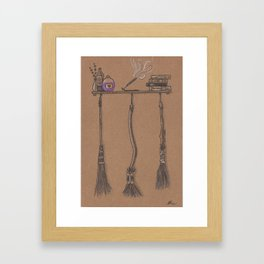 Witches Cubby Framed Art Print