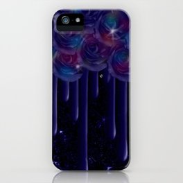 Rose Drops of Space iPhone Case