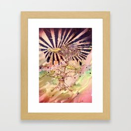 Magic Beans (Alternate colors version) Framed Art Print