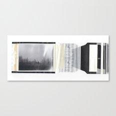 frost bites. Canvas Print