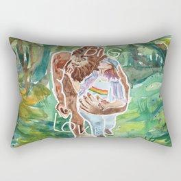Big Foot, Big Love Rectangular Pillow