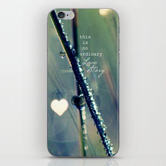 No Ordinary Love Story iPhone & iPod Skin