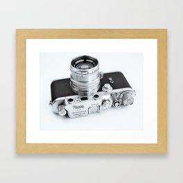 1950s Nicca 3-S 35mm Film Camera in Black & White Framed Art Print