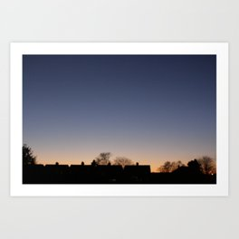 one of those rare moments of beauty. Art Print