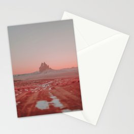 Shiprock / New Mexico Desert Stationery Cards