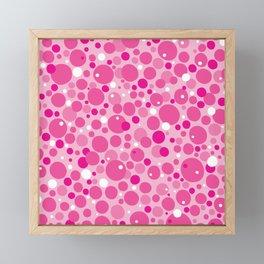 Lick. Tasty Tongue Pattern Framed Mini Art Print