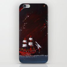 Ship at Sea iPhone & iPod Skin