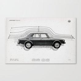 Aerodynamic Technology Canvas Print