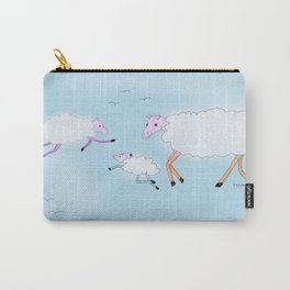 Sheep clouds Carry-All Pouch