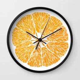 Orange you glad . . . Wall Clock