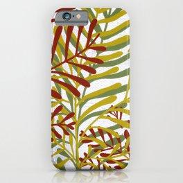 Autumn Flora iPhone Case