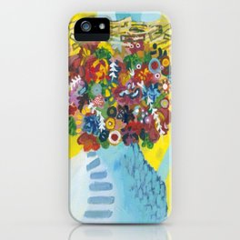 head of flowers iPhone Case