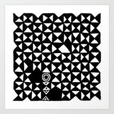 Pattern 110514 Art Print