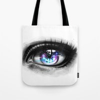 universe Tote Bags featuring universe by Ryky