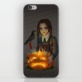Wednesday Addams - Homicide iPhone Skin