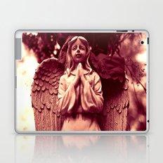 Graveyard angel Laptop & iPad Skin
