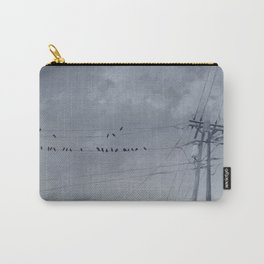 The Sky of the Man Carry-All Pouch