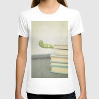 books T-shirts featuring Books by Pure Nature Photos